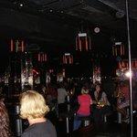Dance floor and bar areas