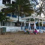 Hosteria Del Mar from beach