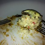 Crab Cakes at Bellini's...delicious!