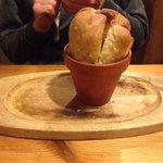 Garlic bread starter