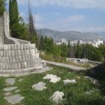 View of Mostar from Partisan Cemetary