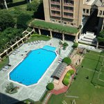Swimming Pool from 10th Floor Room