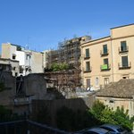 View from room - typical Palermo