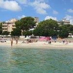 Отель Tropico, вид с моря