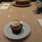 A excellent cupcake to top off a good meal