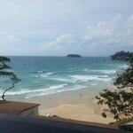 Kata Beach from villa 8821