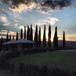 Tramonto a Villa Grazianella