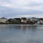View of Kilronan Village from dock