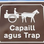 Inis Mor Road Sign
