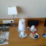 Café y té en habitación