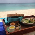 Lunch on the beach. Heaven!!