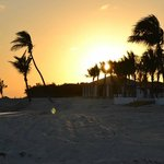 Sunset on Sandals Caye