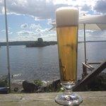 Utsikt + öl