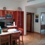 Kitchen & iving area