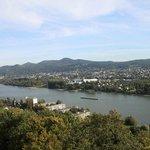Ausblick auf den Rhein.
