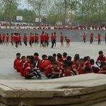 School ground of Kung Fu school