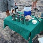 Snacks & drinks during safari