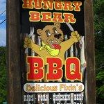 Hungry Bear BBQ sign