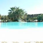 The blue lagoon - okay it's the pool
