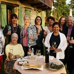 Our group enjoying the pleasures of Pilone Votivo