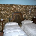 One of the beautiful guest rooms
