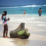 Una playa alucinante, recomendada por los dueños del hotel