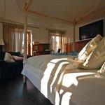 Himmelbett in der Suite