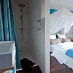 Einzelzimmer mit Bad