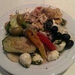 Salat von der unglaublichen Salatbar