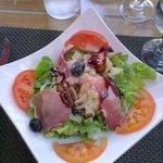Une salade à la Corse