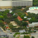 La Villita seen from the Tower of the Americas