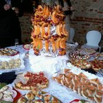 buffet per ricevimento