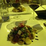 Autumn salad with scallops and pata negra ham CHF 42.50 main course