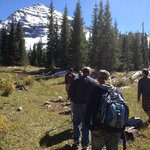 hiking to 10,500 elevation
