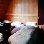 Our quadruple room.