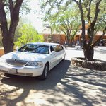 Napa valley wine tour in a stretch limousine