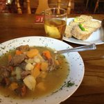 Delicious Lamb Stew with Soda Bread and StrongBow!