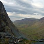View from the top of the Honister Slate Mine