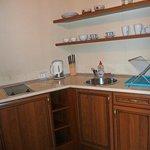 Brass room - kitchenette