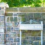 Edgerton Park Entrance