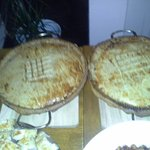 Steak and venison pie!