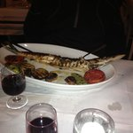 Barracuda fish dish !