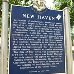 New Haven Marker at the Green - Side 1