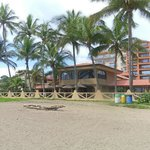 Beachside view of the Cocal Hotel & Casino