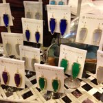 They offered a great selection of Kendra Scott jewelry.