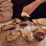 Fresh Oysters.