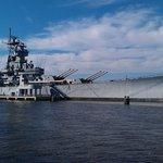 USS New Jersey.