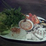 Fresh seafood from Andaman sea everyday .