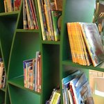Selection of English children's books at Hangzhou Children's Library