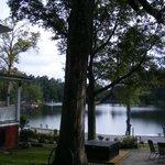 Main house view of lake
